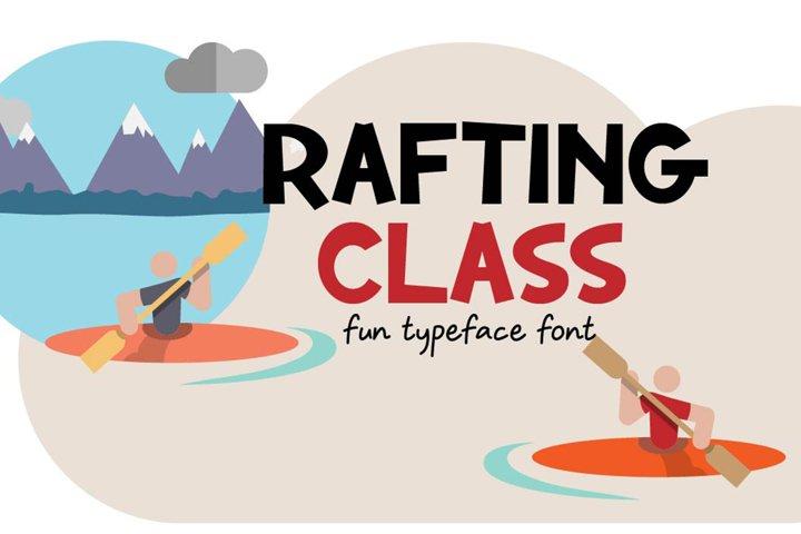 Rafting Class