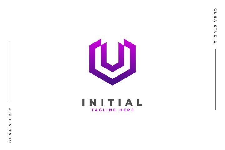 Initial V Monogram - Logo Template