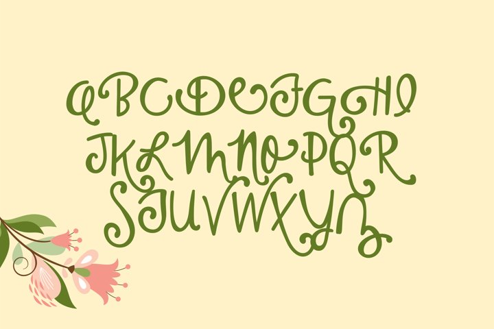 PN Housewife - Free Font of The Week Design3