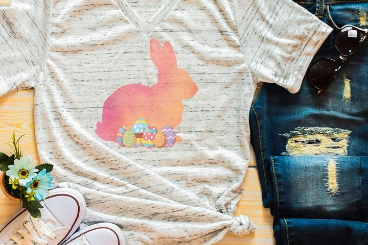 Easter Bunny Sublimation Download