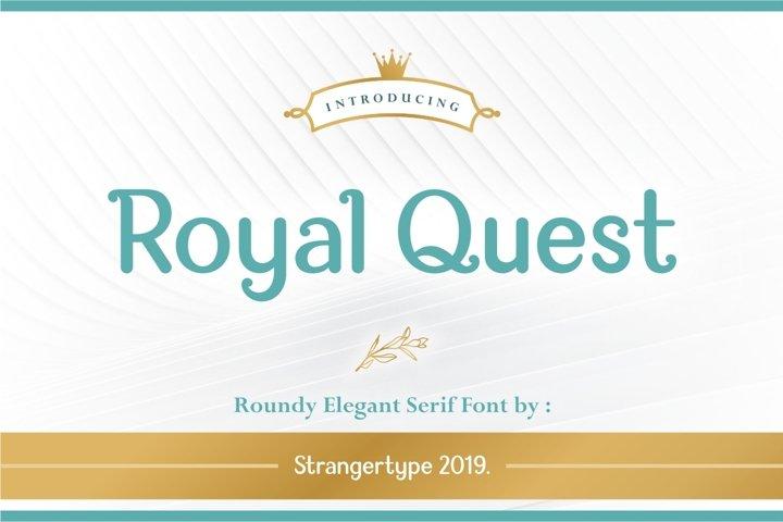 Royal Quest - Logo Font