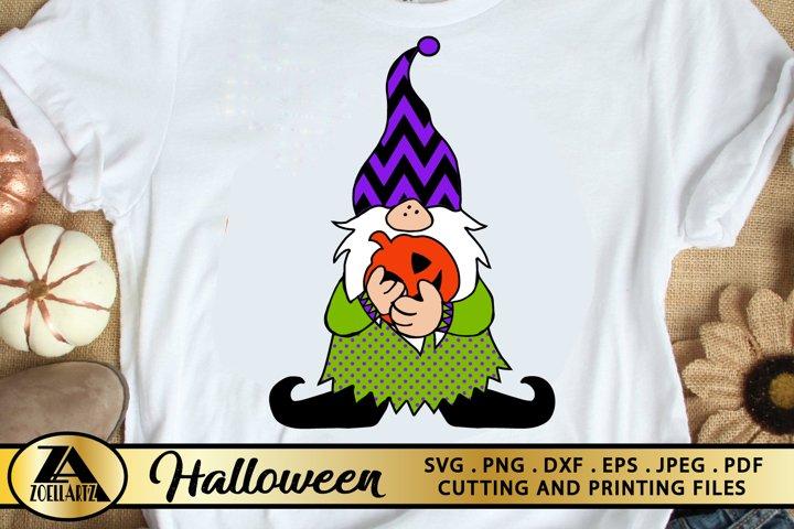 Halloween Gnome SVG PNG EPS DXF Gnomes SVG Gnomes SVG Cricut