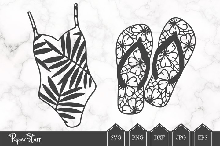 Summer SVG Cut File for Crafters