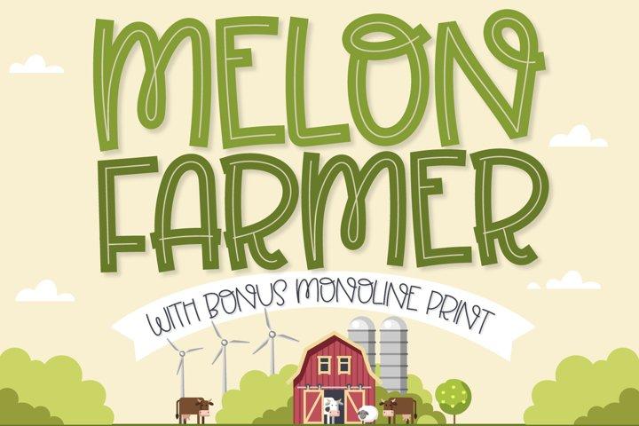 Melon Farmer - An Inline and Print Duo!
