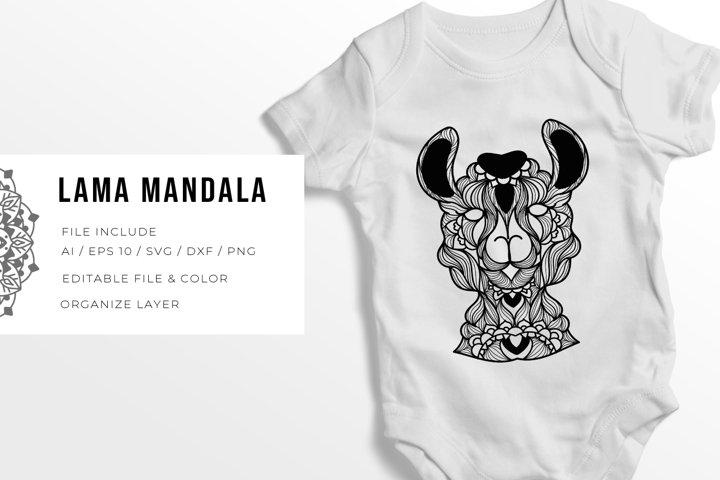 Lama   Mandala