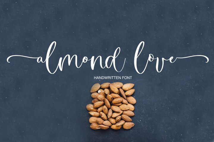 Almond Love Script Font
