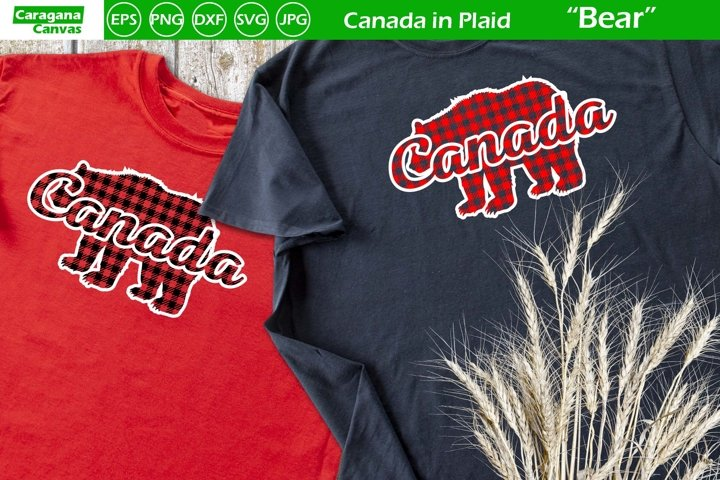 Canada in Plaid - Bear