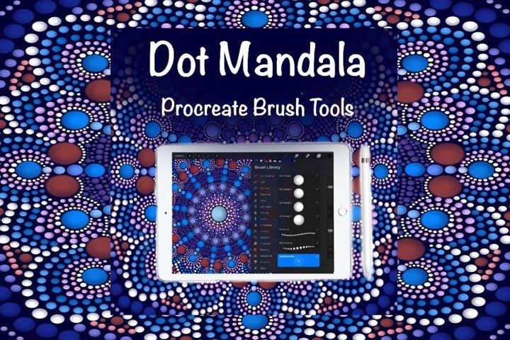 Dot Mandala Brush Set For Procreate