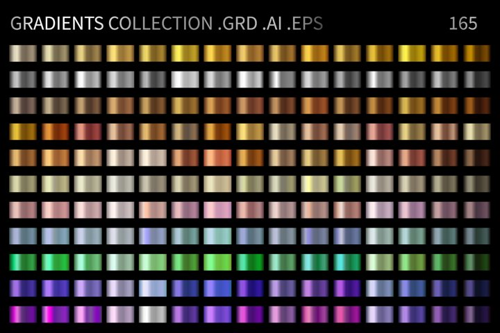 Gradients Collection .GRD .AI .EPS