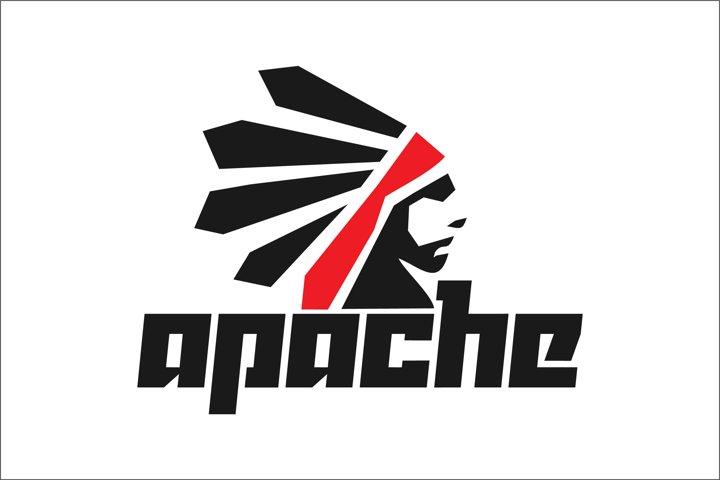 indian logo mascot vector illustration