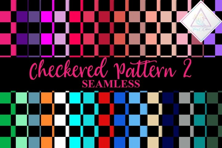 Checkered Seamless Patterns vol 2