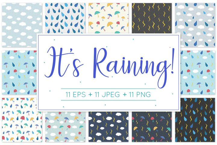 It Raining! Pattern Design