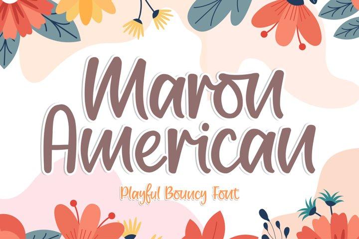 Maron American