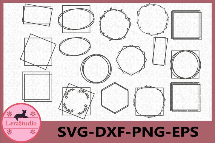 Frame svg, Pattern Frames Svg, Square Frame svg