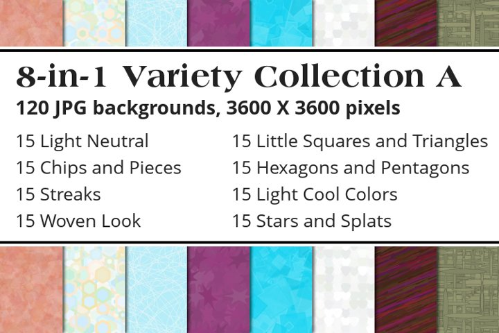 8-in-1 Variety Collection A