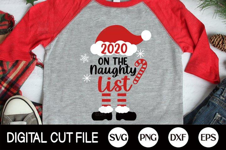 2020, Christmas Quarantine SVG, Santa SVG, Covid Mask PNG