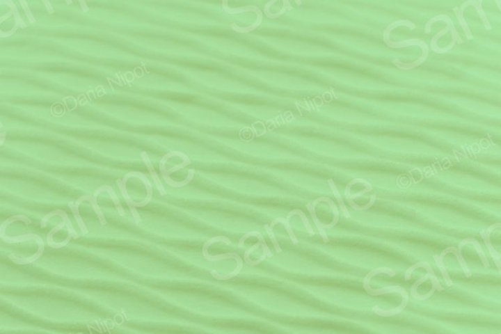 Soft blurred green rib fabric texture background