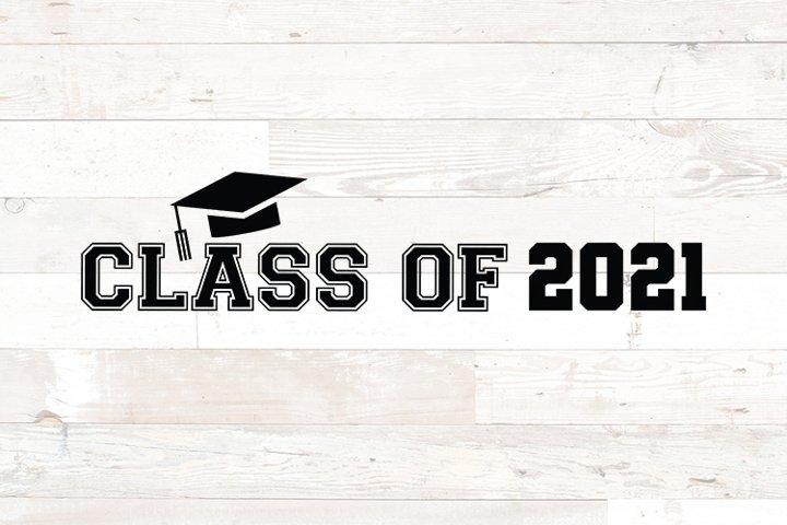 Class of 2021 Graduation Cap svg png dfx jpg