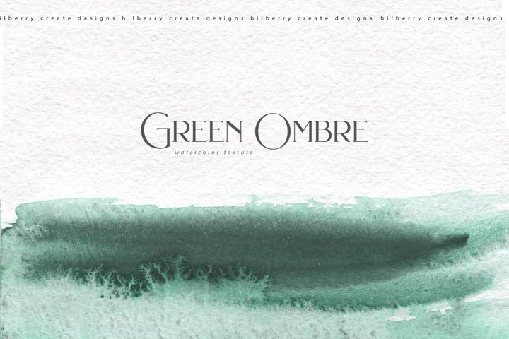 Green Ombre collection