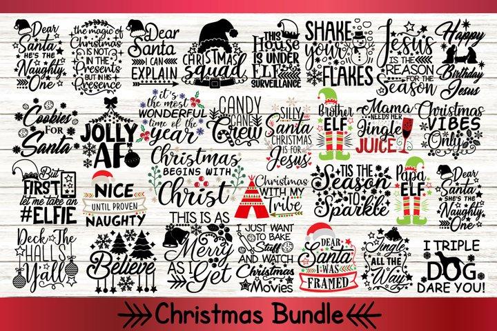 Christmas Bundle Svg Set 2, Merry Christmas Svg, Holiday Svg