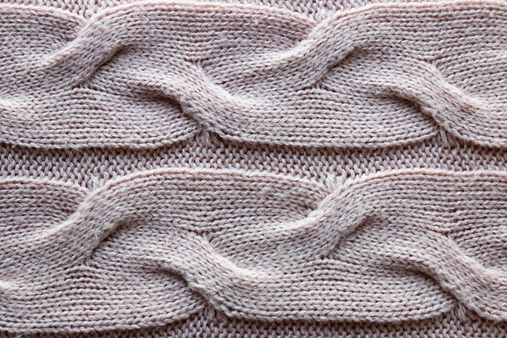 beige knitted texture background