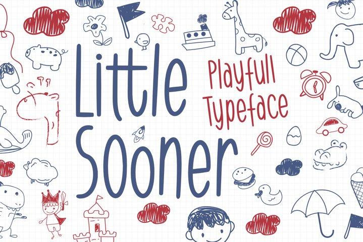 Little Sooner - Playful Typeface