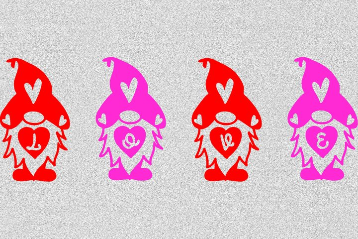 Love Gnomes - Sublimation File - PNG & JPG