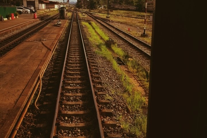 A railway - hello and goodbye