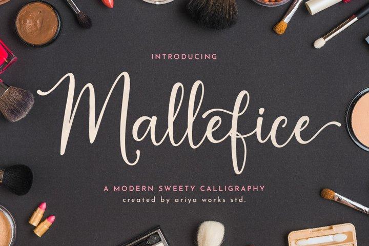 Mallefice   Modern Calligraphy