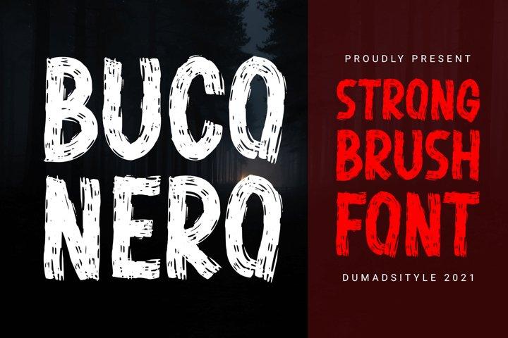 Buco Nero - Modern Brush