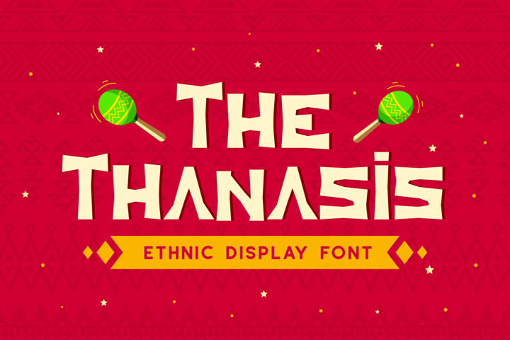 Thanasis - Ethnic Display Font