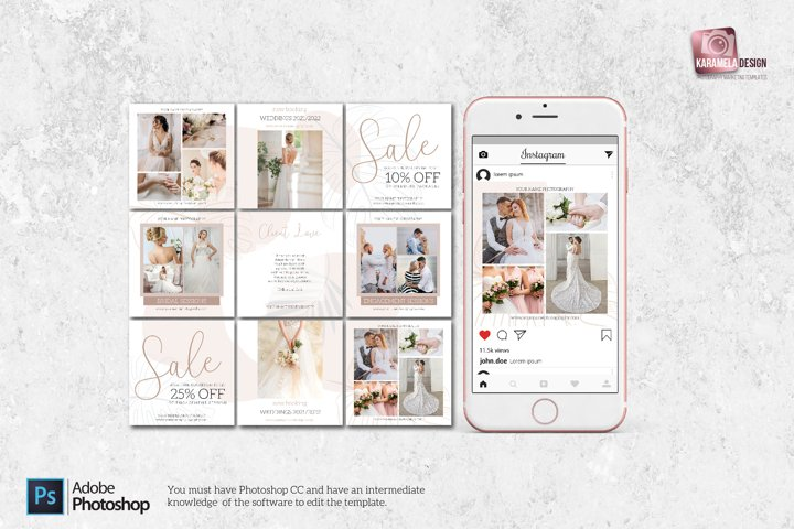 Instagram Post Templates for Photographers