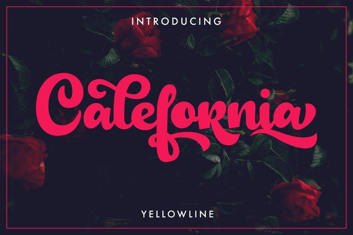 Calefornia Bold Script