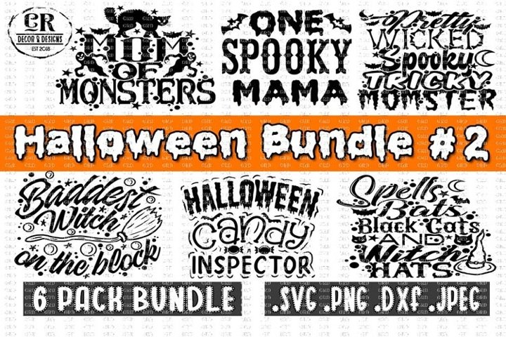 Halloween Bundle #2, Halloween Bundle svg