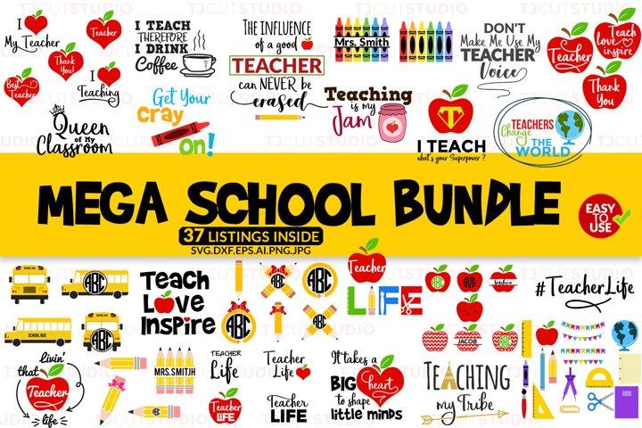 School Bundle svg, Mega School Bundle svg