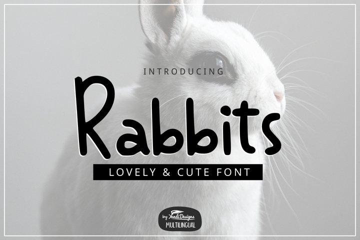 Rabbits Font