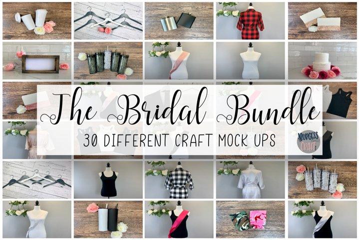 The Bridal Bundle | Craft mock up