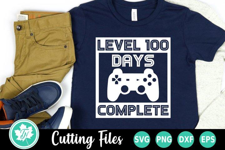 100 Days of School SVG   100th Day SVG   Level 100 Days