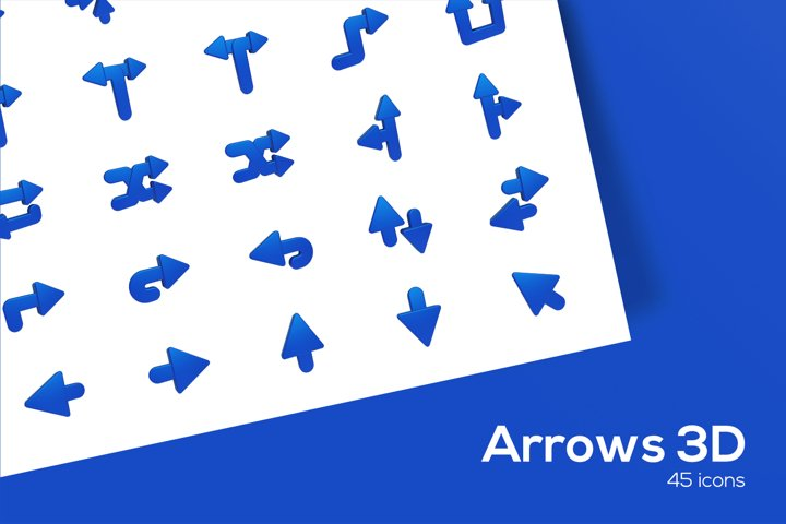 Arrows - 3D IconS
