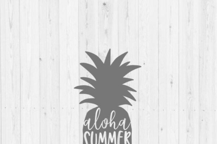 Pineapple SVG, summer SVG, svg, digital download, instant download, commercial license, cut file, pineapple, commercial use, DXF
