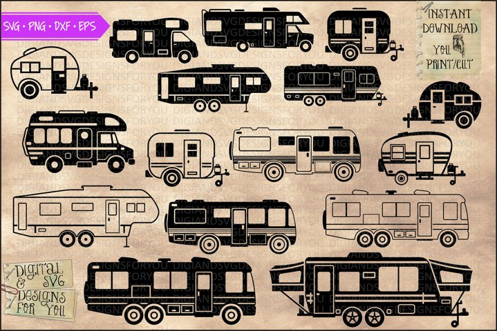 Camper, RV and Trailer bundle