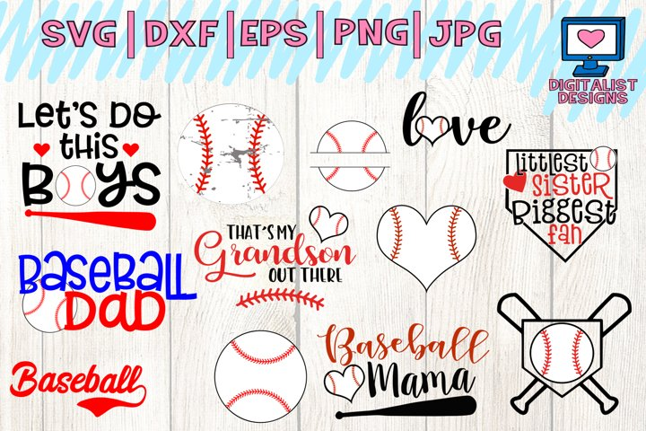 baseball svg, baseball mom svg, distressed baseball, baseball sister svg, love baseball svg, baseball dad svg, baseball heart, monogram baseball svg