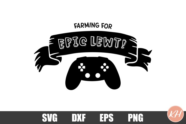Farming for epic lewt SVG Gamer