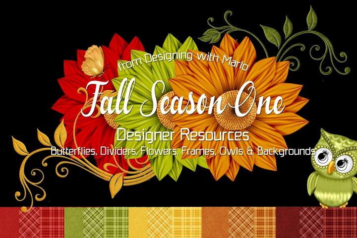Fall Season One - Designer Resources Bundle