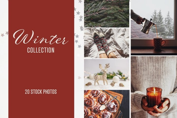 Winter stock photo collection