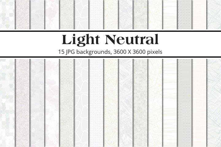Light Neutral Background Pack
