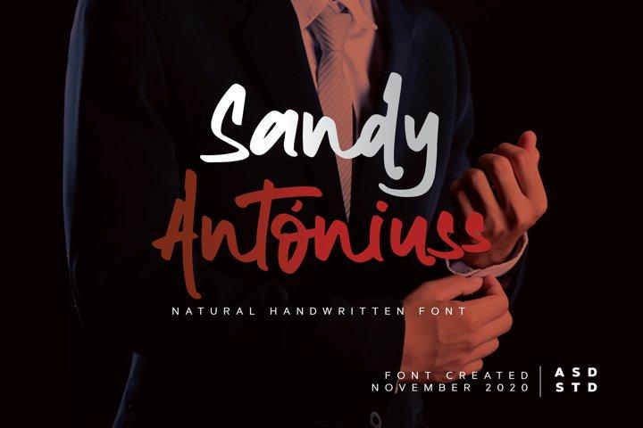 Sandy Antoniuss - Natural Handwritten