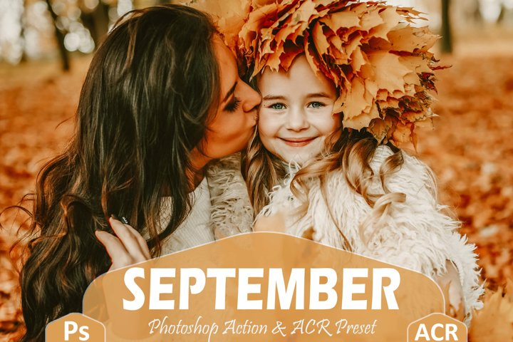 10 September Photoshop Actions And ACR Presets, fall filter