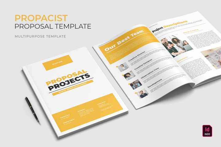 Propacist | Proposal Template