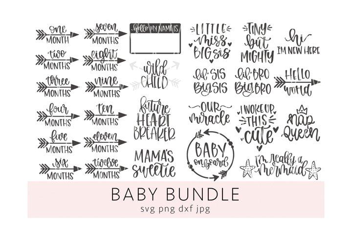 Baby Bundle SVG PNG DXF JPG
